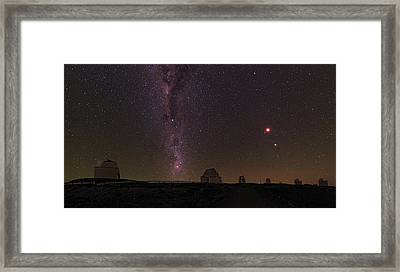 Total Lunar Eclipse Framed Print by Babak Tafreshi