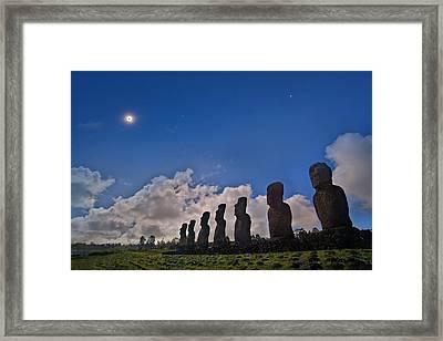 Total Solar Eclipse Framed Print by Juan Carlos Casado (starryearth.com)