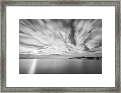 Touch The Clouds Framed Print by Jon Glaser
