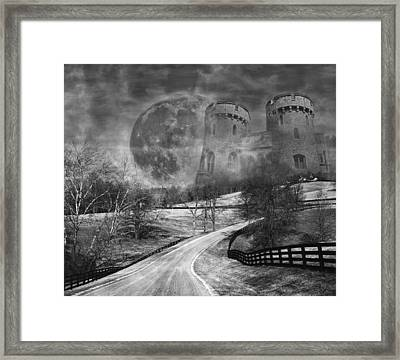 Towers On The Hill Framed Print by Betsy C Knapp