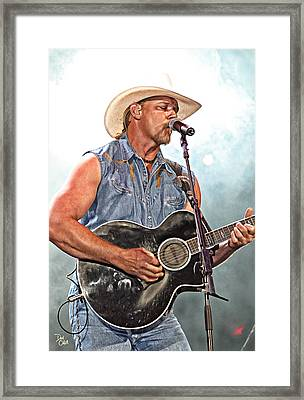 Trace Adkins Framed Print by Don Olea