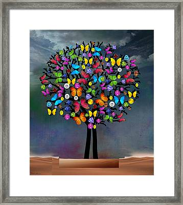 Tree  Framed Print by Mark Ashkenazi