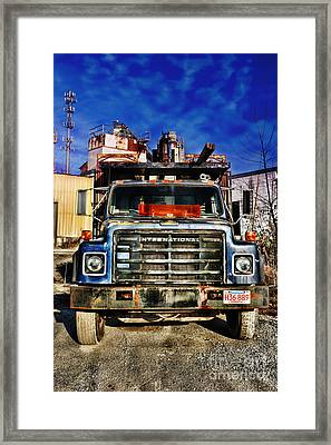 Truck Framed Print by HD Connelly