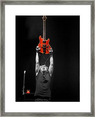 First Tube Framed Print by David Powell