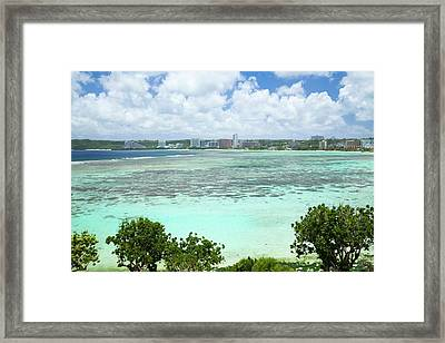 Tumon Bay Framed Print by Jim Edds