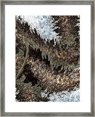 Tumult Framed Print by Christopher Gaston