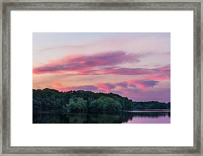 Turner Sunset Framed Print by Bryan Bzdula