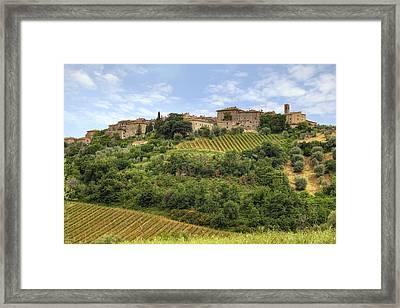 Tuscany - Castelnuovo Dell'abate Framed Print by Joana Kruse