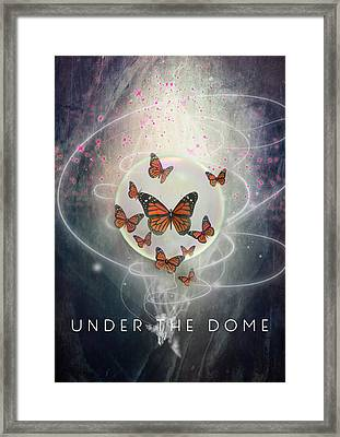 The Under The Dome Framed Print by Barbara Ki