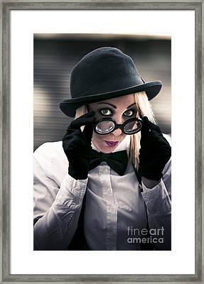 Undercover Secret Agent Framed Print by Jorgo Photography - Wall Art Gallery