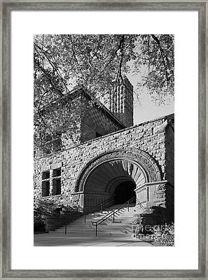 University Of Minnesota Pillsbury Hall Framed Print by University Icons