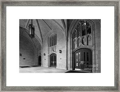 University Of Toledo University Hall Framed Print by University Icons