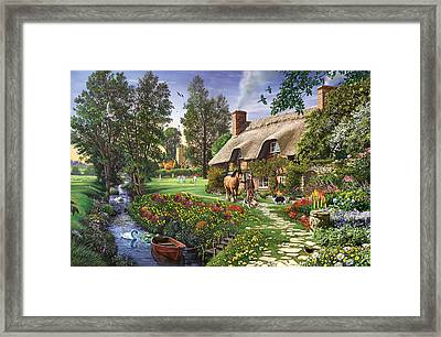 Untitled Framed Print by Steve Crisp