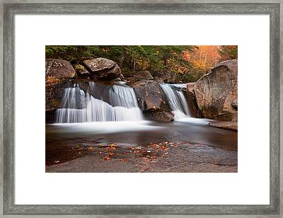 Upper Screw Auger Falls Framed Print by Patrick Downey