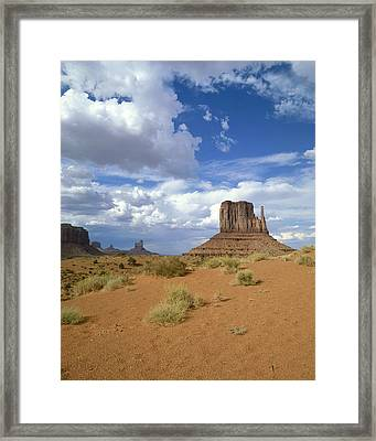 Usa, Arizona, Monument Valley, Navajo Framed Print by Tips Images