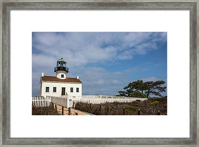Usa, California, Cabrillo National Framed Print by Peter Hawkins