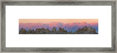 Usa, California Composite Panoramic Framed Print by Jaynes Gallery