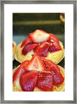 Usa, Florida Croissant Gourmet, Winter Framed Print by Michael Defreitas