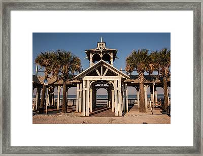 Usa, Florida, New Smyrna Beach Framed Print by Lisa S. Engelbrecht