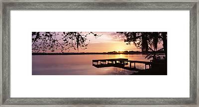 Usa, Florida, Orlando, Koa Campground Framed Print by Panoramic Images
