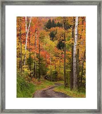 Usa, Maine, Bethel Framed Print by Jaynes Gallery