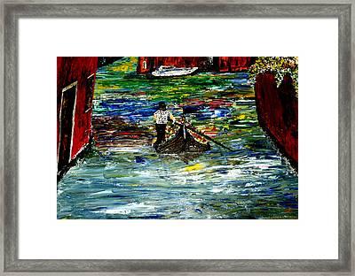 Venice Spring Framed Print by Mark Moore