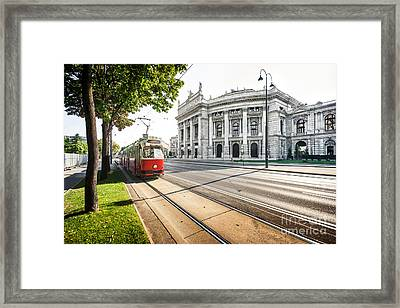 Vienna Framed Print by JR Photography