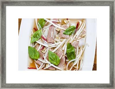 Vietnamese Food Details Framed Print by Jorgo Photography - Wall Art Gallery