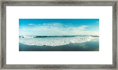 View Of The Atlantic Ocean At Fort Framed Print by Panoramic Images