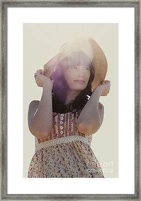 Vintage Summer Flare Framed Print by Jorgo Photography - Wall Art Gallery