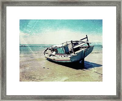Waiting For The Tide Framed Print by Nicklas Gustafsson
