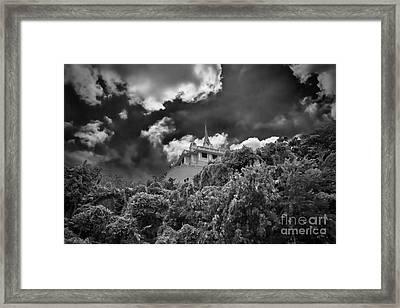 Wat Saket Framed Print by Joerg Lingnau