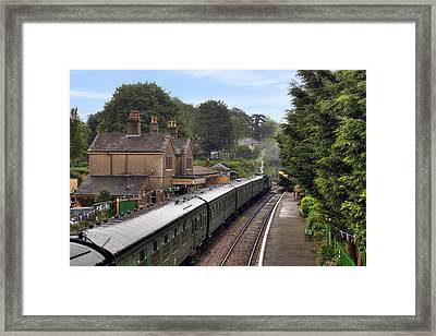 Watercress Line Alresford Framed Print by Joana Kruse