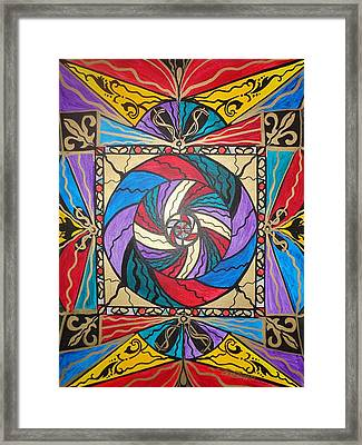 Wealth  Framed Print by Teal Eye  Print Store