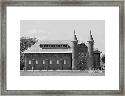 Wesleyan University Fayerweather  Framed Print by University Icons