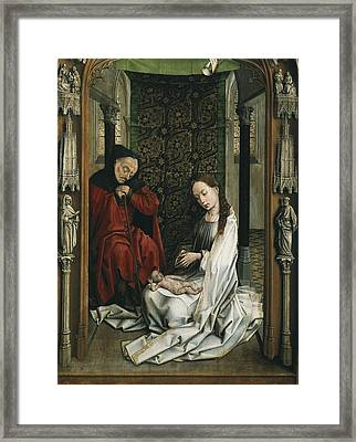 Weyden, Rogier Van Der  1400-1464 Framed Print by Everett