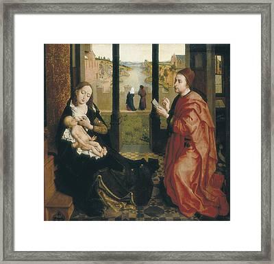 Weyden, Rogier Van Der  1400-1464. St Framed Print by Everett