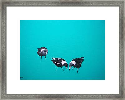 What About Me Framed Print by Jan Matson