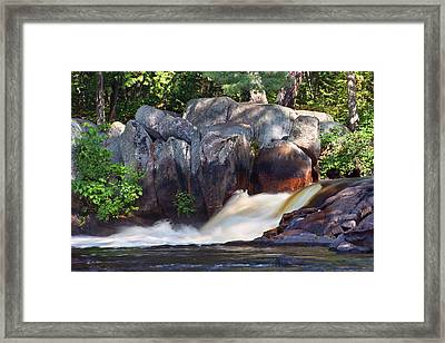Where Tranquil Waters Run Framed Print by Leda Robertson