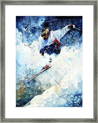 White Magic Framed Print by Hanne Lore Koehler