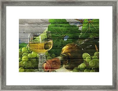 Wine Framed Print by Joe Hamilton