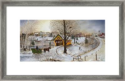 Winter Memories Framed Print by Doug Kreuger