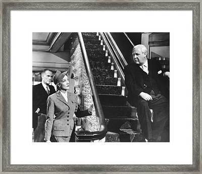 Witness For The Prosecution, From Left Framed Print by Everett