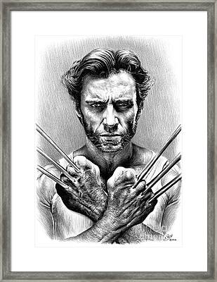 Wolverine Framed Print by Andrew Read