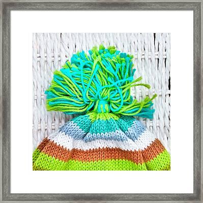 Wool Hat Framed Print by Tom Gowanlock