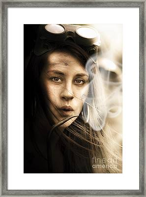 Worker Framed Print by Jorgo Photography - Wall Art Gallery