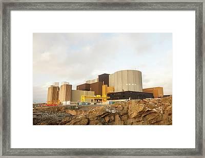 Wylfa Nuclear Power Station Framed Print by Ashley Cooper