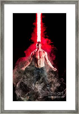 X-men Cyclops  Framed Print by Jt PhotoDesign