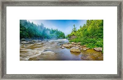 Youghiogheny River A Wild And Scenic Framed Print by Panoramic Images