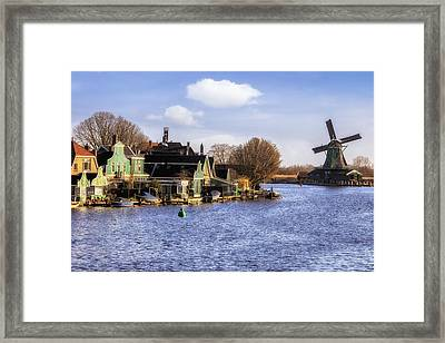 Zaanse Schans Framed Print by Joana Kruse